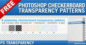 Photoshop Transparency Pattern