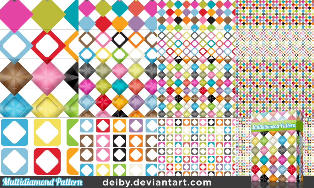 Multidiamond Pattern by deiby