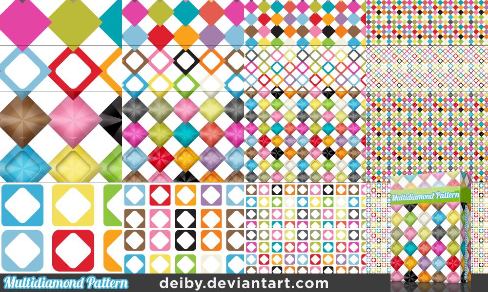 Multidiamond Pattern by deiby