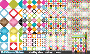 Multidiamond Pattern by DesignFathoms