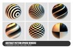 Abstract Pattern Sphere Renders