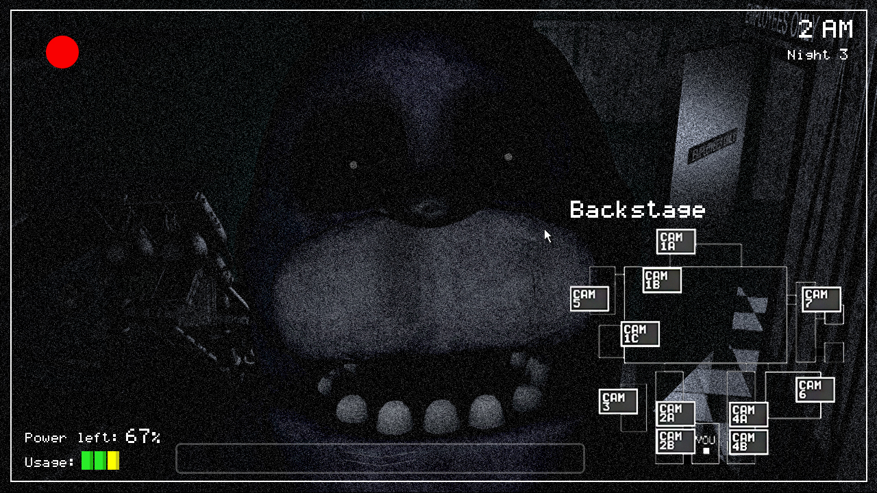 Five Nights at Freddy's camera template by KaleidonKep99 on