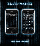 Blue Matrix for iPhone