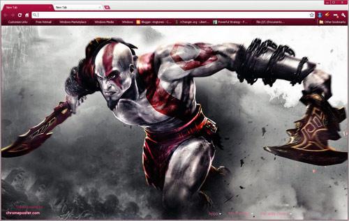 God of War 3 Kratos by vrkm2003