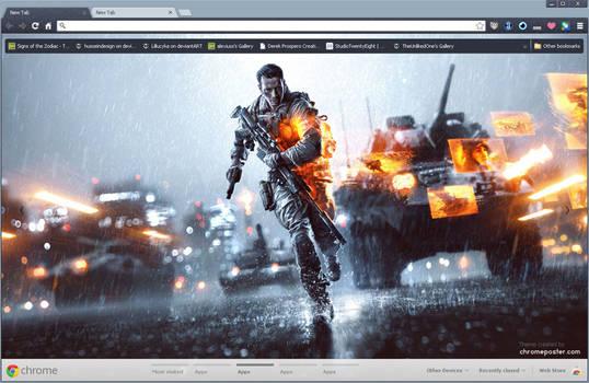 Battlefield 4 Chrome Theme