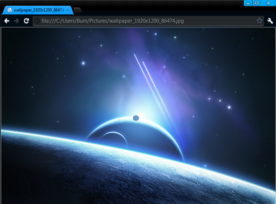 Blackn Blue Google Chrome Theme By Raphack