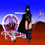Fantasy chrome reflection maps