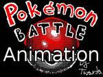 Pokemon battle Flipnote animation