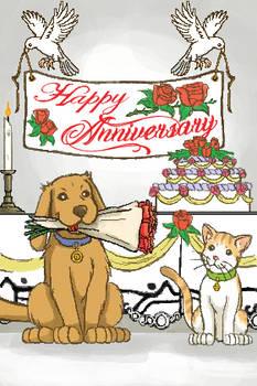 Happy Anniversary Greet Card