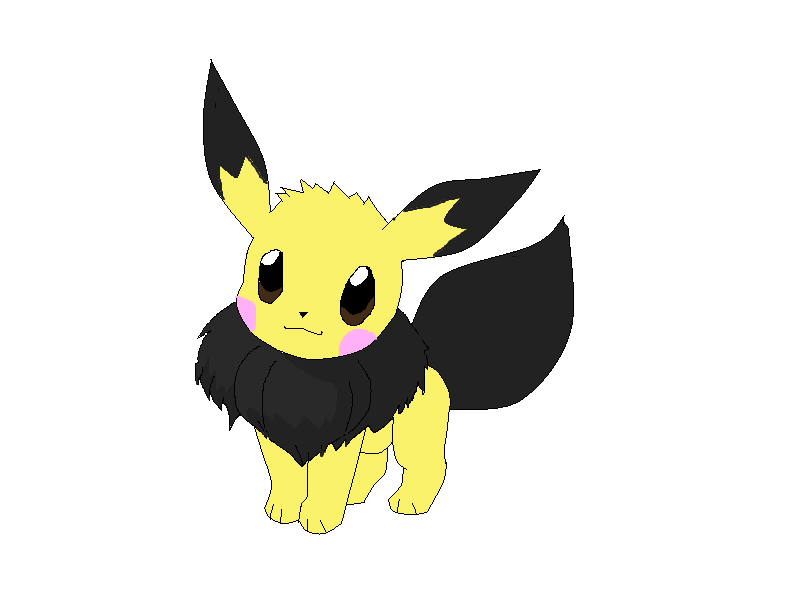 Eevee as Pichu by NinjaTurtleGirl on DeviantArt