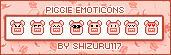 Piggie Emoticons by Shizuru117