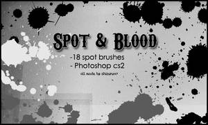 Spot and Blood Brushes