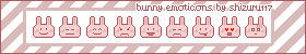 Bunny Emoticons by Shizuru117