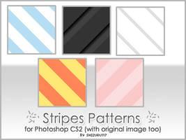 Stripes patter - set 01 by Shizuru117