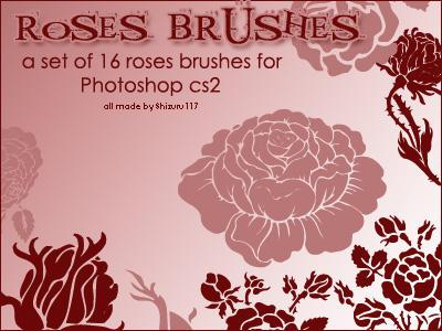 Rose Brushes by Shizuru117