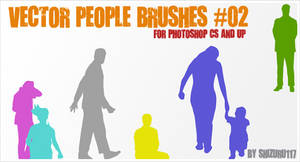 Vector People Brushes 02