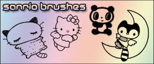 Sanrio Brushes