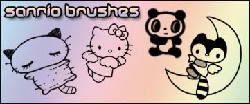 Sanrio Brushes by Shizuru117