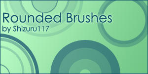 Rounded Brushes by Shizuru117