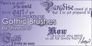Gothic Brushes
