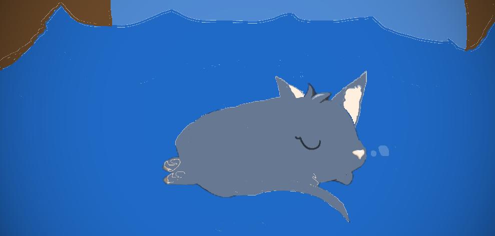 Bluestar drowning. by Avraplikesstuff