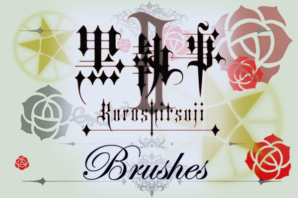 Kuroshitsuji II PS Brushes by FullMA