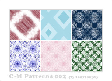 C-M Patterns 002 by crowned-meadow