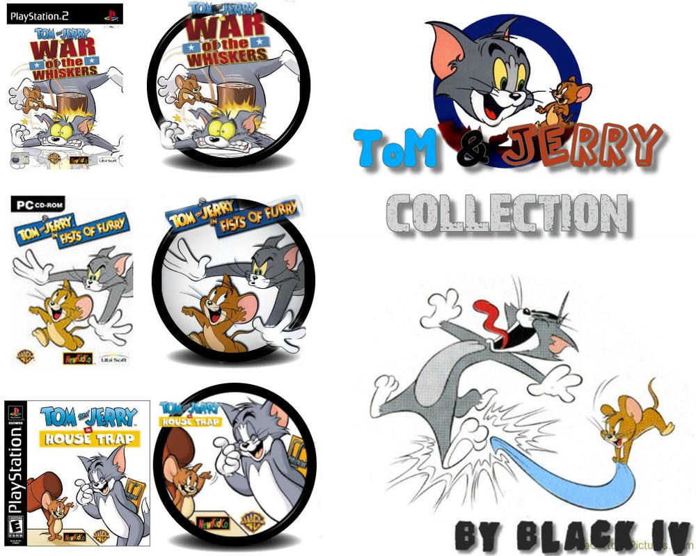 Tom and Jerry collection Icons by BLACK-IV