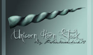 Unicorn Horn Stock -PDS-