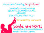 Samie...The Font