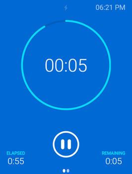 App Design, Timer