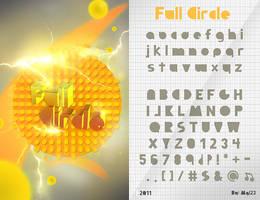 Full Circle - Font by Mgl-23