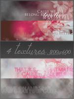 4 textures 800x600 by Carllton