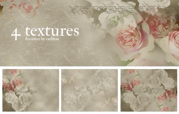4 textures 800x600 : 5 by Carllton