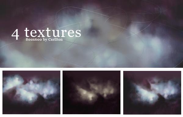 4 textures 800x600 : 9 by Carllton