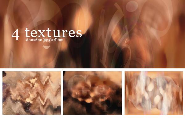 4 textures 800x600 : 10 by Carllton