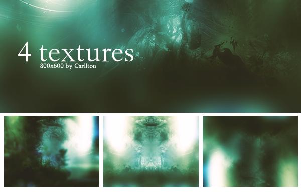 4 textures 800x600 : 16 by Carllton