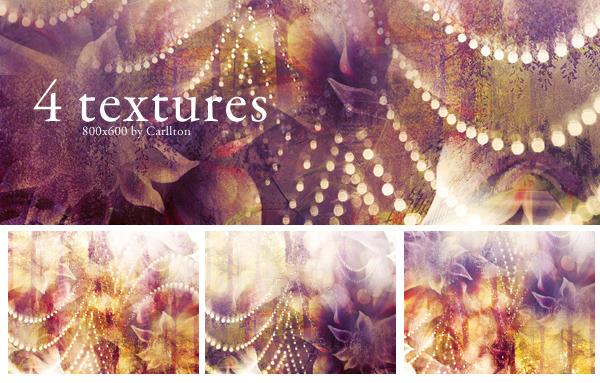 4 textures 800x600 : 18 by Carllton