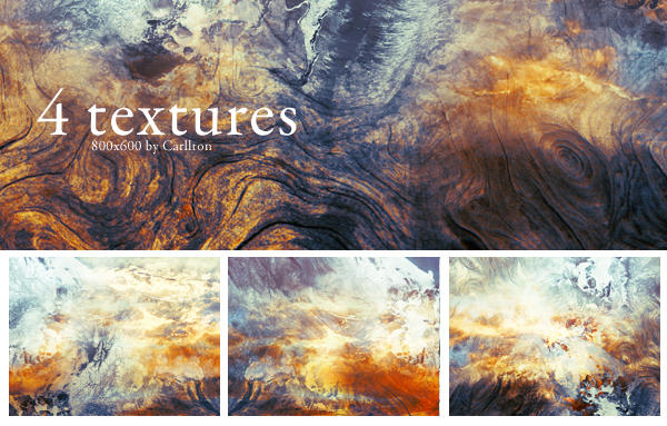 4 textures 800x600 : 25 by Carllton