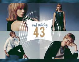 PSD coloring : 43 by Carllton