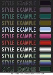 11 PS styles : I by Carllton