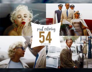 PSD coloring : 54 by Carllton