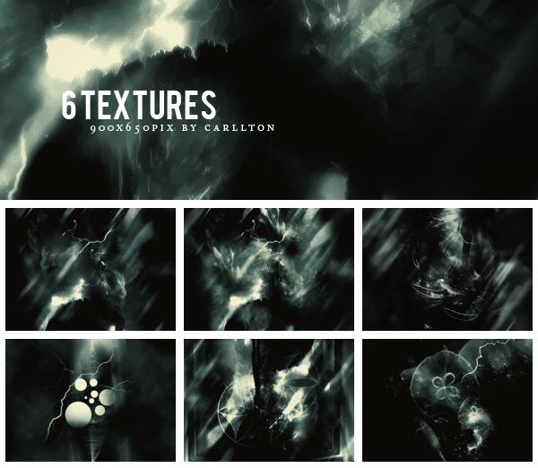 6 textures 900x650 : 60 by Carllton