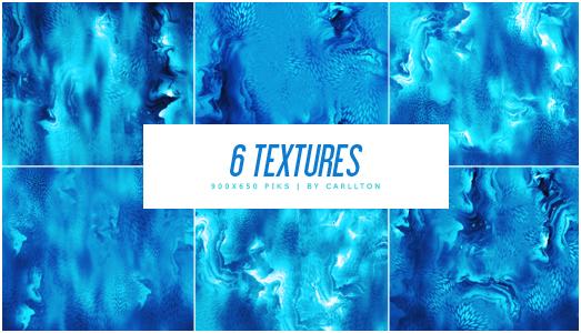 6 textures 900x650 : 75 by Carllton