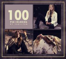 PSD coloring : 100 by Carllton