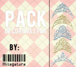 Pack de coronas Png