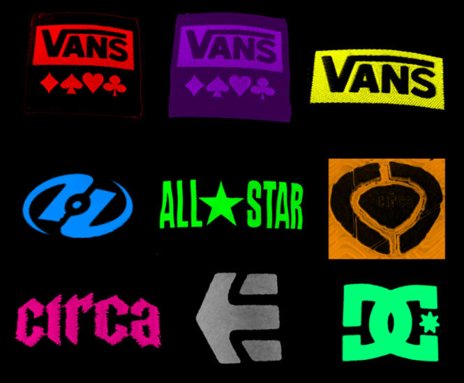 shoe logos by pure07ecstacy on deviantart