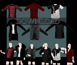 [DOWNLOAD]Shirts MALE by Kurusou