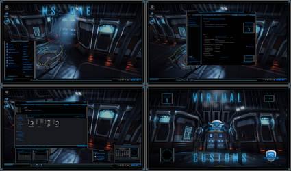 MS: ONE Blue - Maximum Security One by R0ck-n-R0lla1