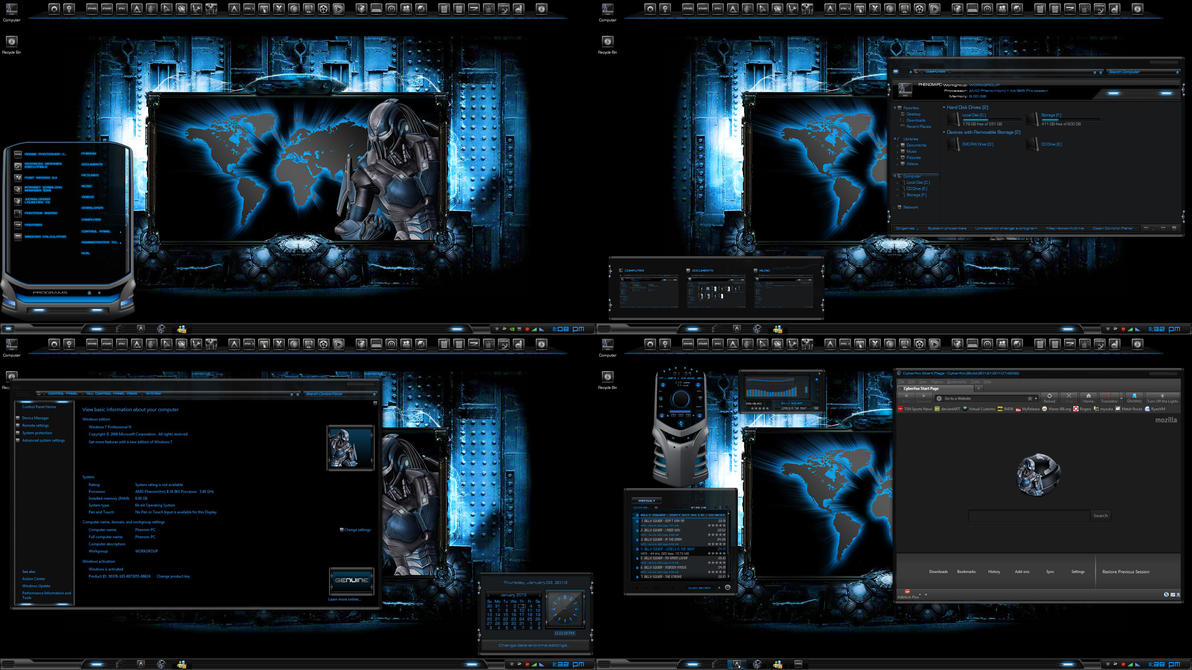 Requiem The Cyberfox Theme By R0ck N R0lla1 On Deviantart